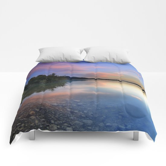 Spring clouds Comforters