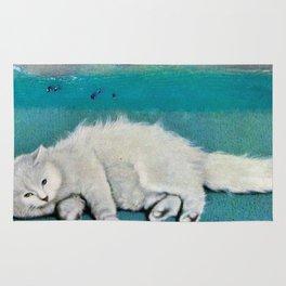 cat spirit Rug