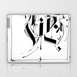 CALLIGRAPHY N°5 ZV Laptop & iPad Skin