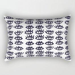 eyes print Rectangular Pillow