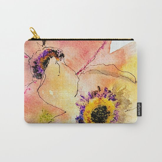 miracle flowers Carry-All Pouch