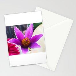 Pulsatilla vulgaris Stationery Cards