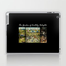 The Garden Of Earthly Delights Hieronymus Bosch Laptop & iPad Skin