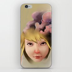 Girl mind iPhone & iPod Skin