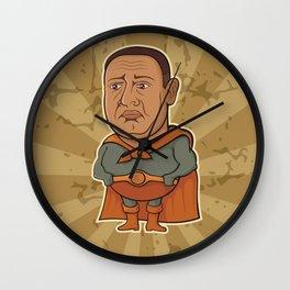 Sad Superhero Wall Clock