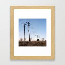 BV-1248, Sabadell. 2012. Framed Art Print