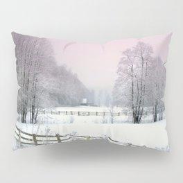 Winter road Pillow Sham