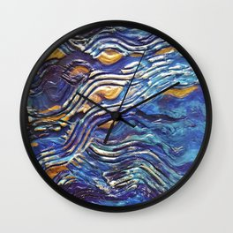 Abstract nautical background Wall Clock