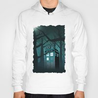 marauders Hoodies featuring Tardis in the Forest of The Night by neutrone