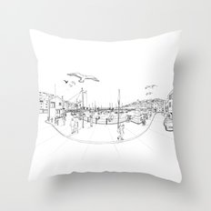 Brixham Throw Pillow