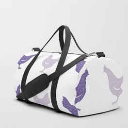The Purple Hen Duffle Bag
