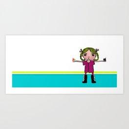 Creative Spark Art Print