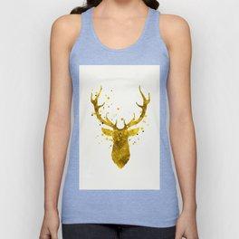 Gold Deer Unisex Tank Top