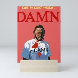Kendrick Lamar - DAMN. Mini Art Print