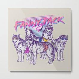 Fanny Pack Metal Print