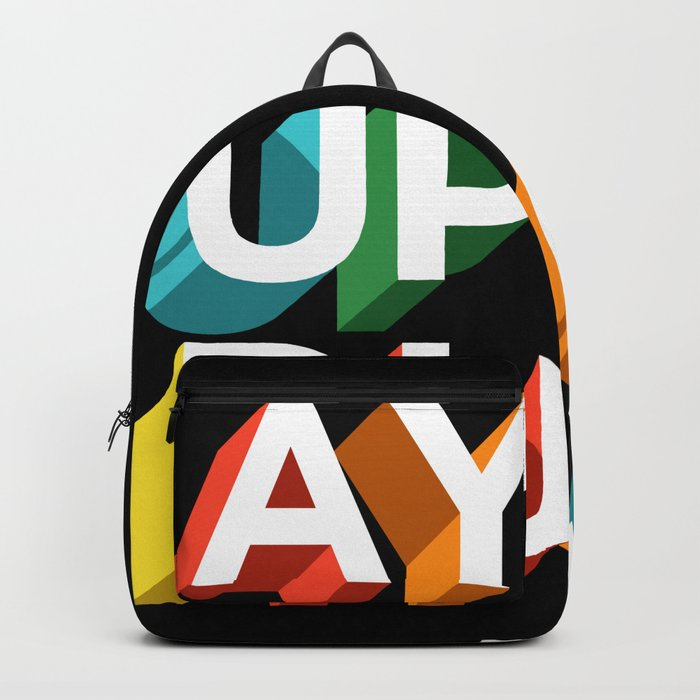 Ay Up Duck Backpack