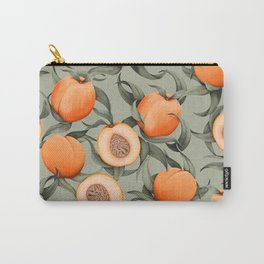 Botanical Peaches Carry-All Pouch