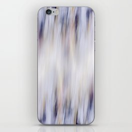 Washed out blue iPhone Skin
