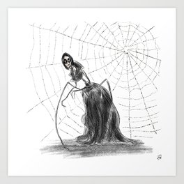 Coraline The Other Mother Art Print