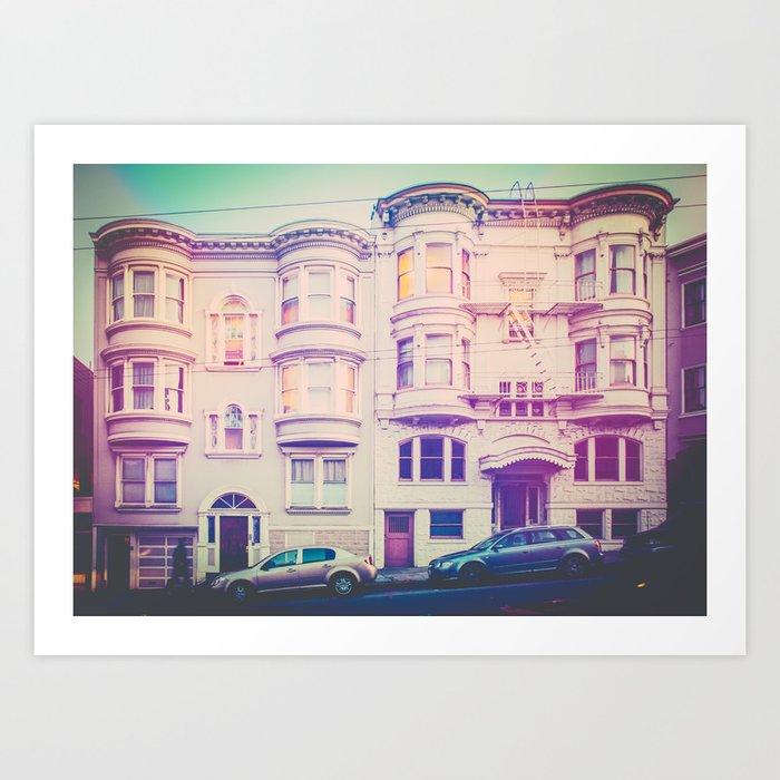 San Francisco Glow Fine Art Print Art Print