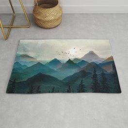 Mountain Sunrise II Rug