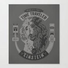World's First Time Traveler Canvas Print
