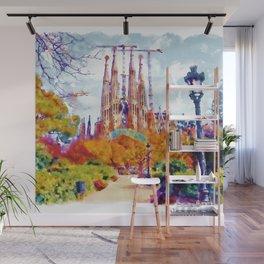 La Sagrada Familia - Park View Wall Mural