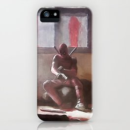 The Merc With A Mouth Stops To Reload - Dead iPhone Case