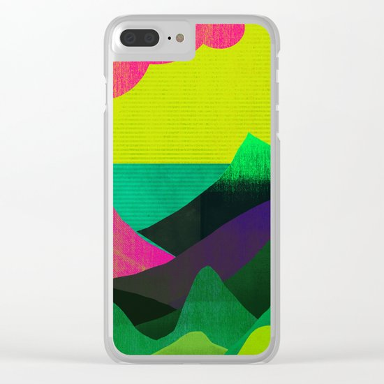 Sea View Clear iPhone Case