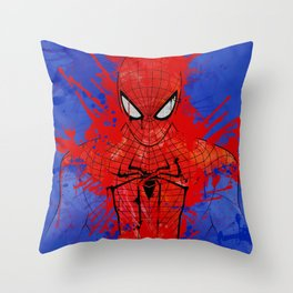 The Amazing Spiderman Throw Pillow