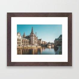 Magic Ghent Framed Art Print