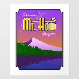 Landmarks of Life: Mt. Hood Art Print