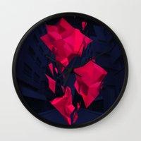 akira Wall Clocks featuring Akira by Sean Ostashek