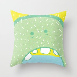 Hungry. Throw Pillow