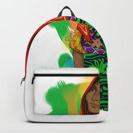 Ustup - kuna/guna girl Backpack