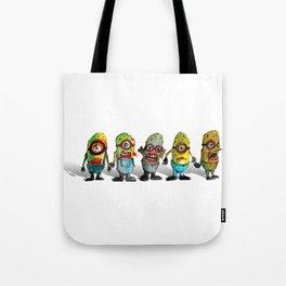 zombie minons Tote Bag