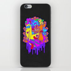 Where the Dead Things Play iPhone & iPod Skin