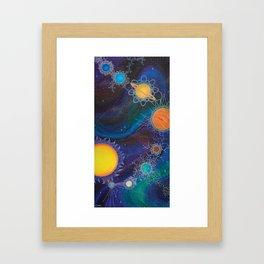 Spacial Relations Framed Art Print