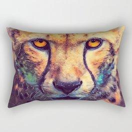 Leopard art #leopard #cats #animals Rectangular Pillow