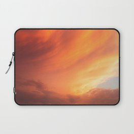Celestial Fire Clouds Laptop Sleeve