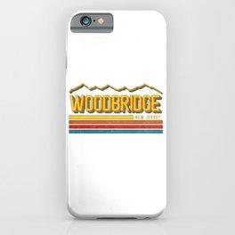 Vintage Woodbridge New Jersey NJ State Mountain Souvenir iPhone Case