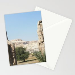 The Clossi of memnon at Luxor, Egypt, 1 Stationery Cards