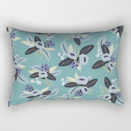 Jane Floral Rectangular Pillow