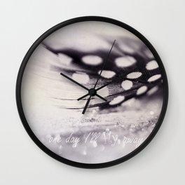 feather III Wall Clock