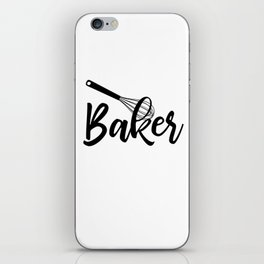 Baker iPhone Skin