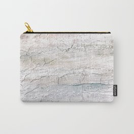 Soft Pastel Texture Acrylic Abstract Carry-All Pouch