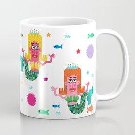 Mermaid Sisters Coffee Mug