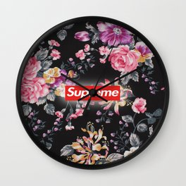 Flower supreme Wall Clock
