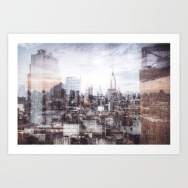 A Layered Empire Art Print