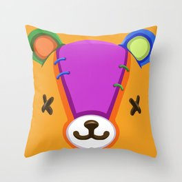 Animal Crossing Stitches the Cub Throw Pillow